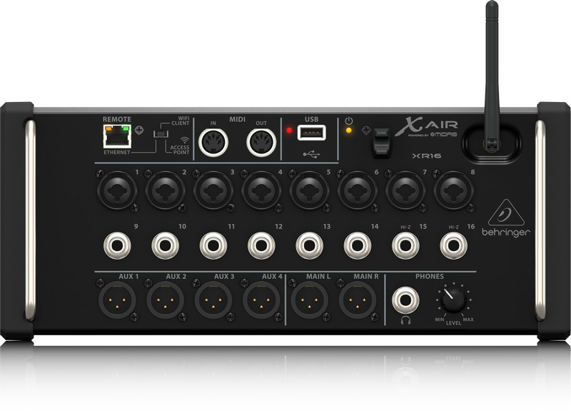 Behringer P16 M Powerplay 16 Channel Digital Personal